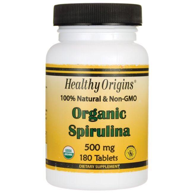 Healthy Origins100% Natural & Non-GMO Organic Spirulina