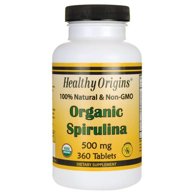 Healthy Origins 100% Natural & Non-GMO Organic Spirulina