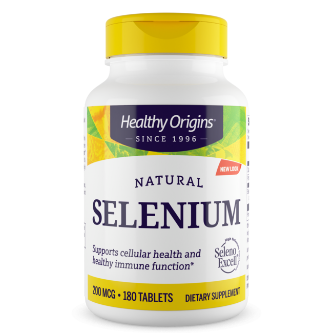 Healthy Origins Natural Seleno Excell Selenium