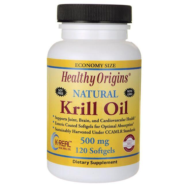 Healthy OriginsNatural Krill Oil - Natural Vanilla