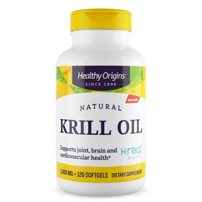 Healthy Origins Krill Oil - Vanilla