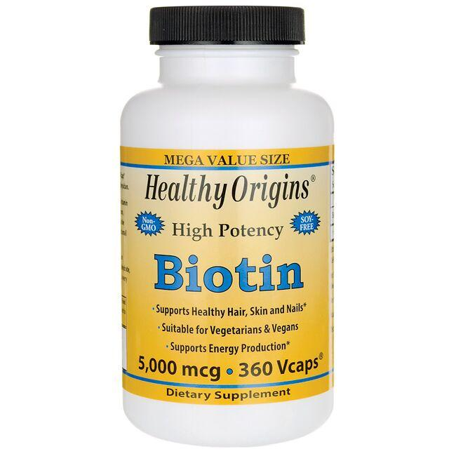 Healthy Origins High Potency Biotin