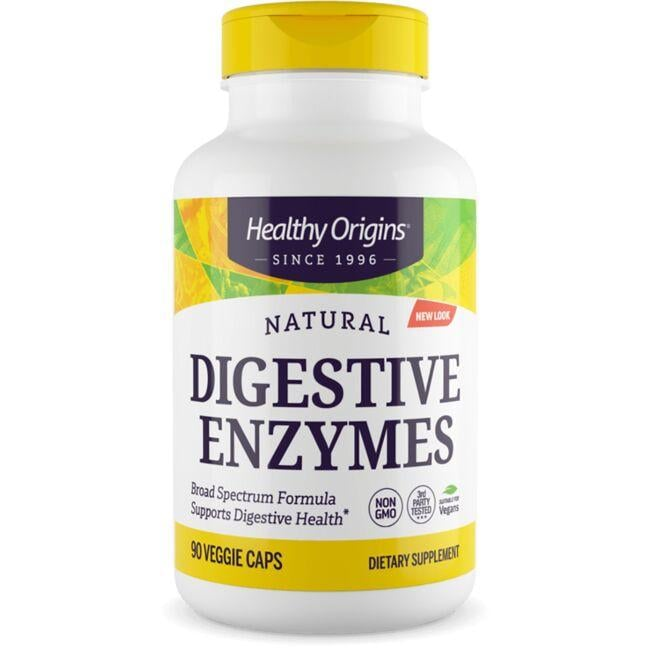 Healthy Origins Digestive Enzymes Broad Spectrum
