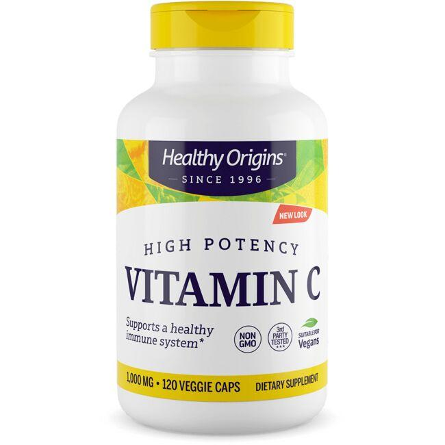 Healthy Origins High Potency Vitamin C