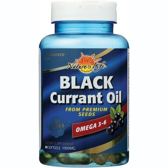 Nature's LifeBlack Currant Oil