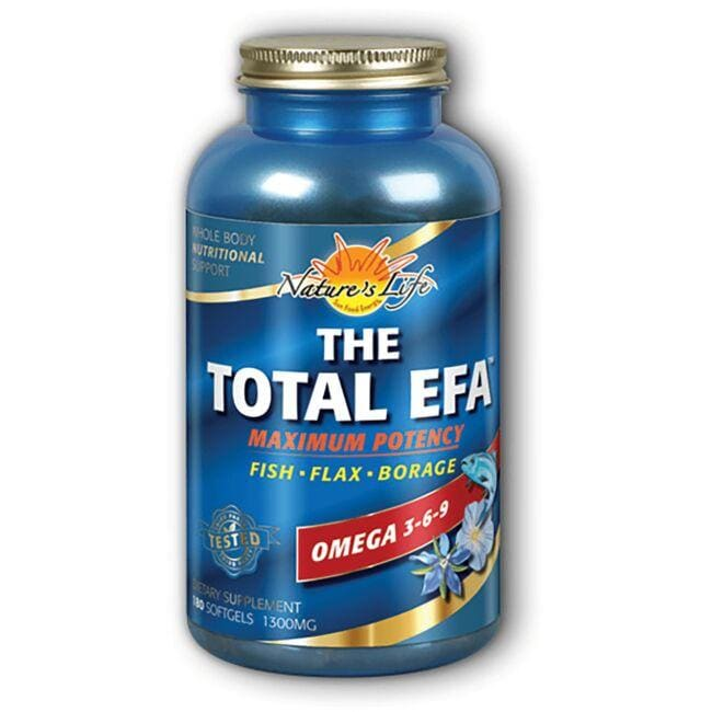 Nature's Life The Total EFA - Maximum Potency