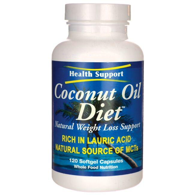 Health SupportCoconut Oil Diet
