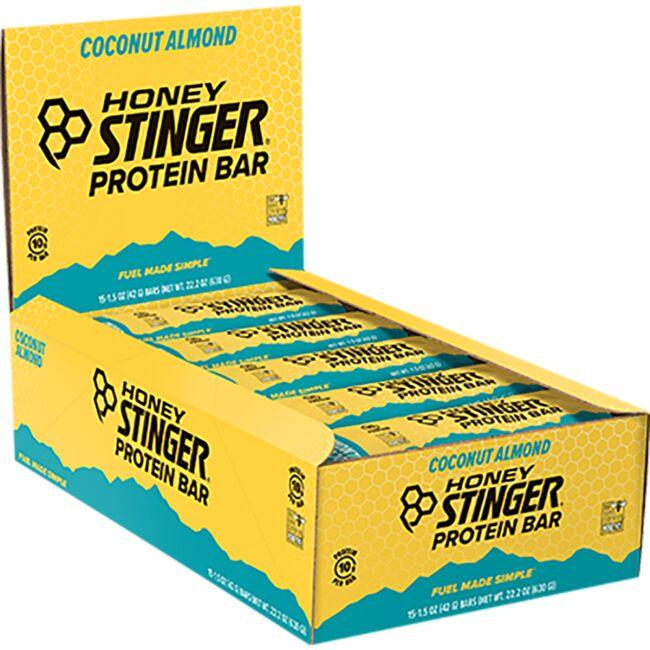 Honey Stinger Protein Bars - Dark Chocolate Coconut Almond