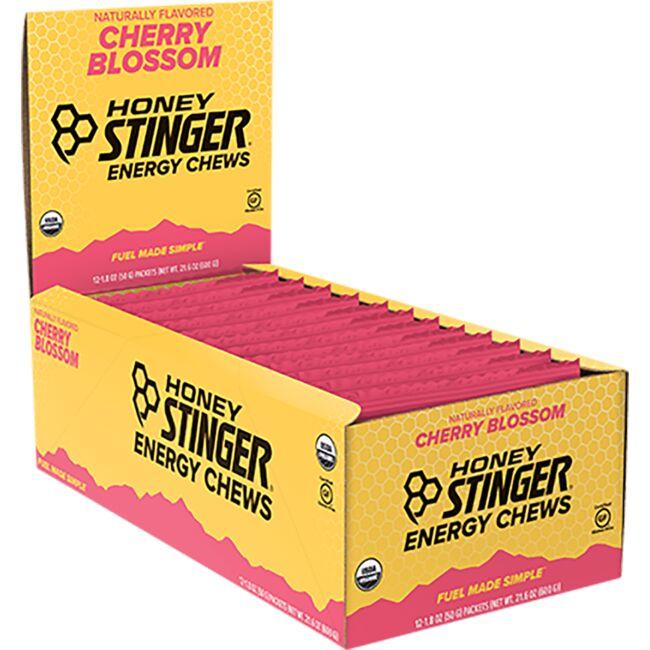 Honey Stinger Organic Energy Chews - Cherry Blossom