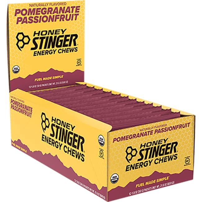 Honey StingerOrganic Energy Chews - Pomegranate Passionfruit