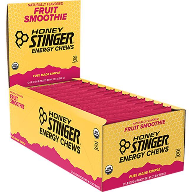 Honey Stinger Organic Energy Chews - Fruit Smoothie