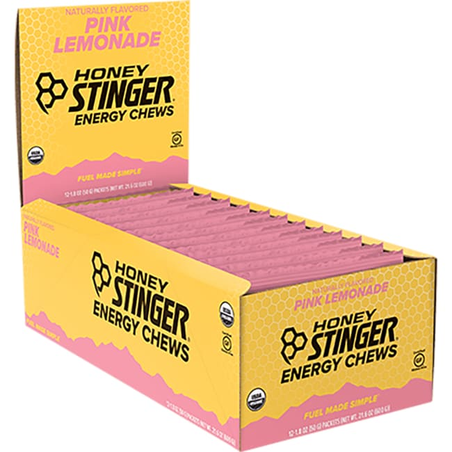Honey StingerOrganic Energy Chews Pink Lemonade