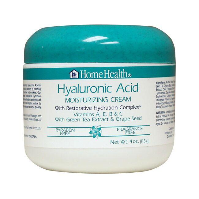 Facial cream with hyaluronic acid