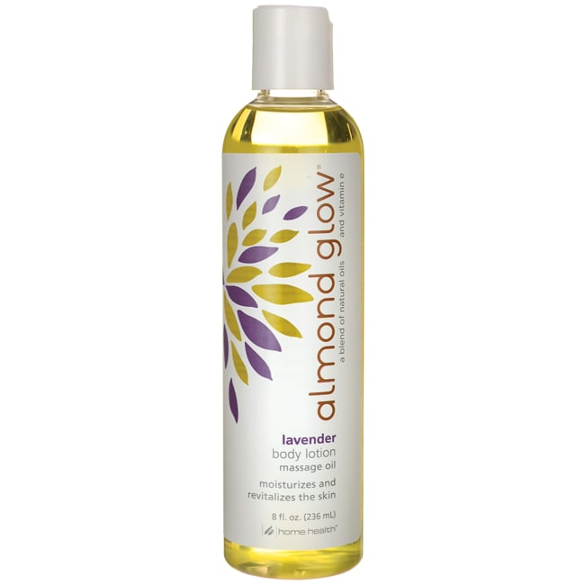 Home HealthAlmond Glow Body Lotion Massage Oil - Lavender
