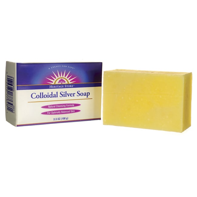 Heritage ProductsColloidal Silver Soap