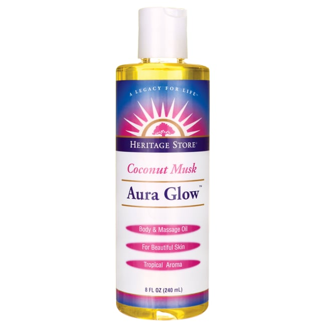 Heritage ProductsAura Glow Massage Lotion - Coconut