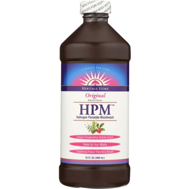 Heritage Products HPM Hydrogen Peroxide Mouthwash