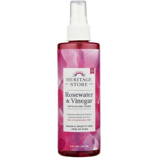 Heritage Products Rose Petals Rosewater Vinegar