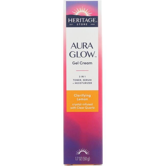 Heritage Products Aura Glow 3 In 1 Gel Cream - Clarifying Lemon