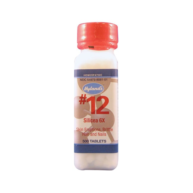 Hyland's #12 Silicea 6X Cell Salts