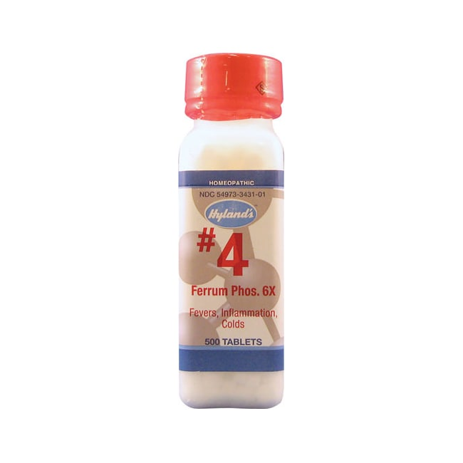 Hyland's #4 Ferrum Phos 6X Cell Salts