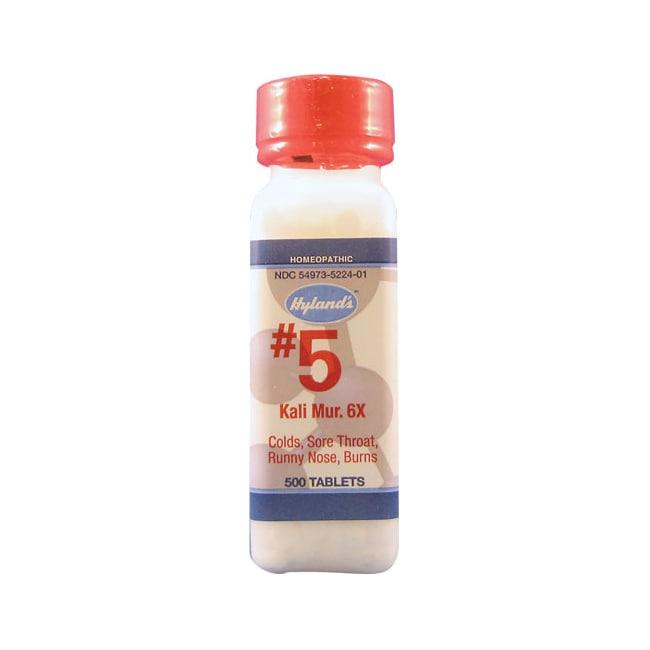 Hyland's #5 Kali Mur 6X Cell Salts