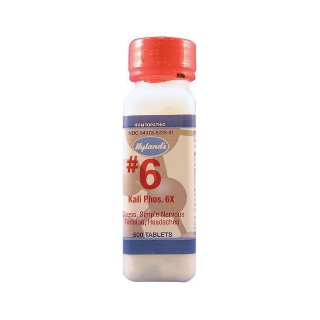 Hyland's#6 Kali Phos 6X Cell Salts
