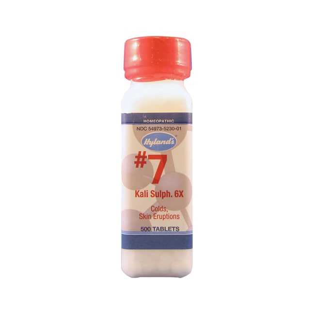 Hyland's#7 Kali Sulph 6X Cell Salts