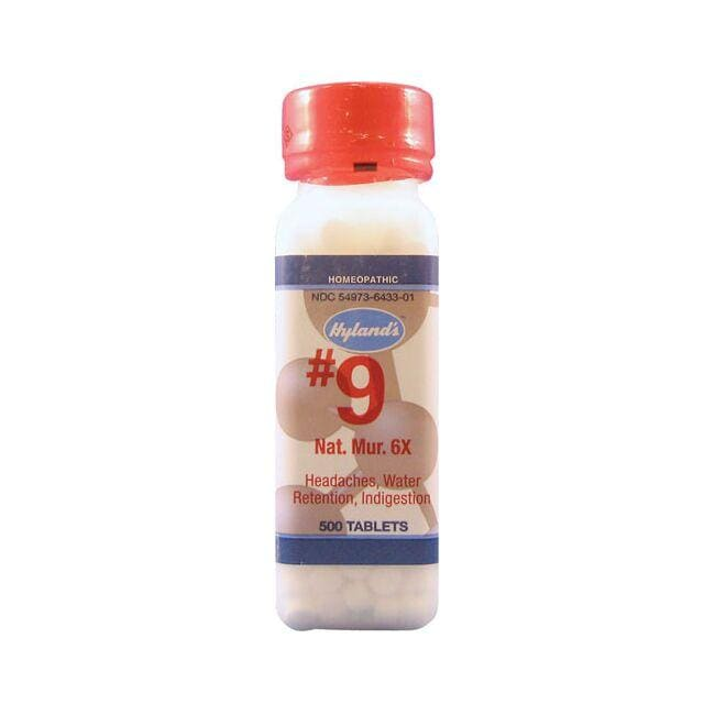 Hyland's#9 Natrum Mur 6X Cell Salts