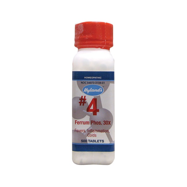 Hyland's#4 Ferrum Phos. 30X Cell Salts