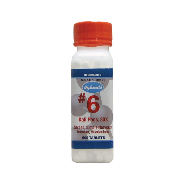Hyland's#6 Kali Phos. 30X Cell Salts