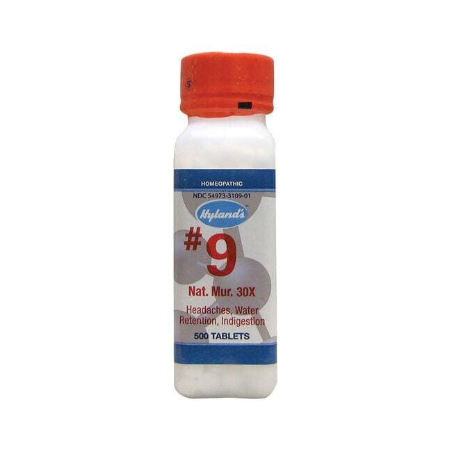 Hyland's #9 Nat. Mur. 30X Cell Salts