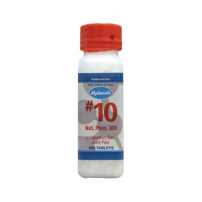 Hyland's#10 Nat. Phos. 30X Cell Salts