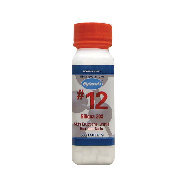Hyland's #12 Silicea 30X Cell Salts