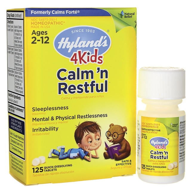 Hyland's Calm 'N Restful 4 Kids