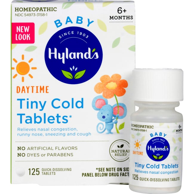 Hyland S Baby Tiny Cold Tablets 125 Tabs Swanson Health