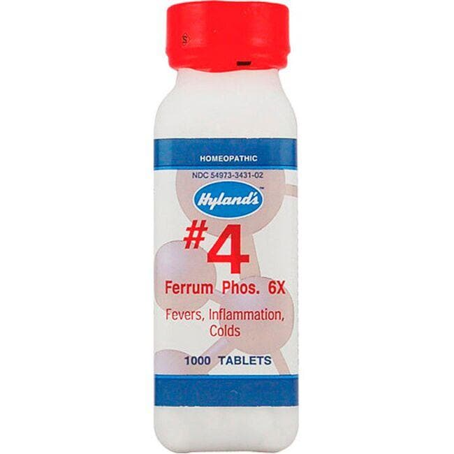 Hyland's # 4 Ferrum Phos. 6X Cell Salts