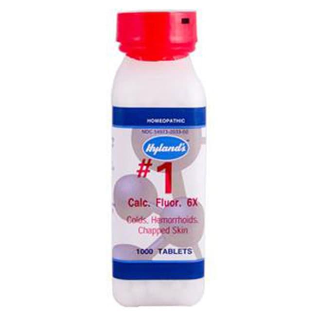 Hyland's# 1 Calc. Fluor. 6X Cell Salts