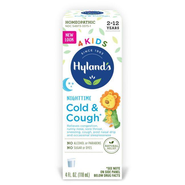 Hyland'sCold'N Cough 4Kids - Nighttime
