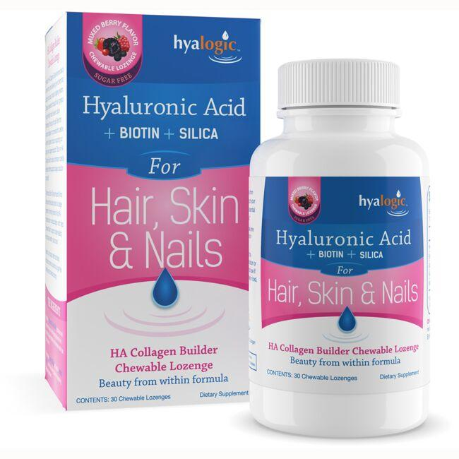 HyalogicHyaluronic Acid + Biotin + Silica For Hair, Skin & Nail
