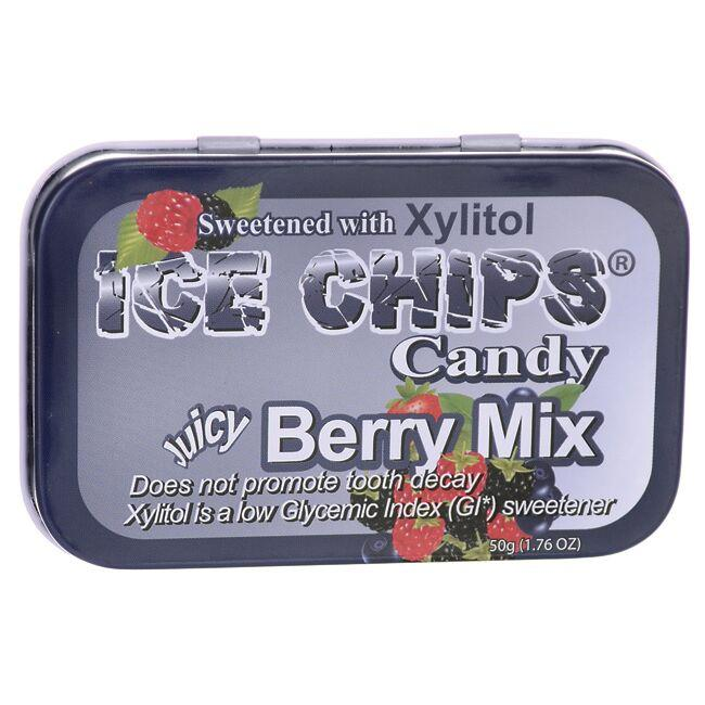 Ice Chips Ice Chips Candy Juicy Berry Mix