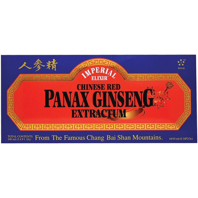 Imperial ElixirChinese Red Panax Ginseng Extractum