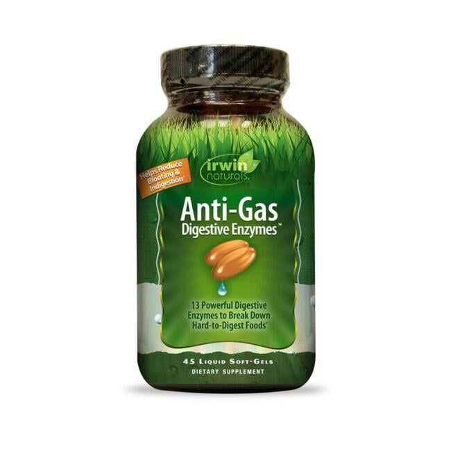 Irwin NaturalsAnti-Gas Digestive Enzymes