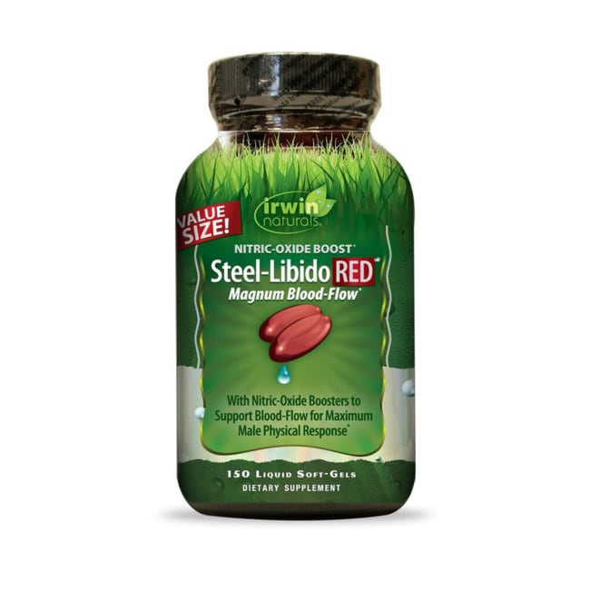 Irwin NaturalsSteel-Libido Red