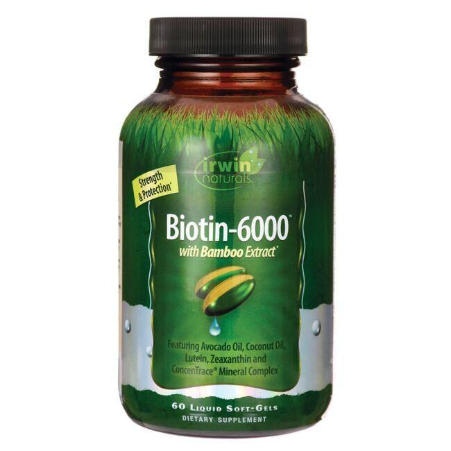 Irwin NaturalsBiotin-6000