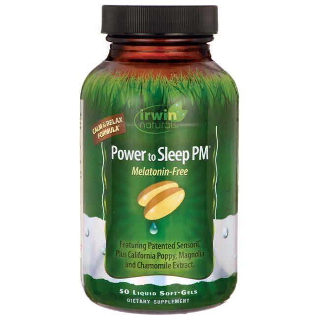Irwin NaturalsPower to Sleep PM Melatonin-Free