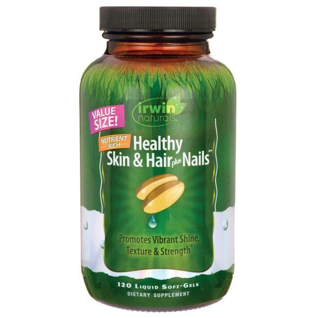 Irwin Naturals Healthy Skin & Hair Plus Nails