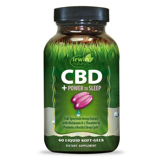 Irwin NaturalsCBD + Power to Sleep