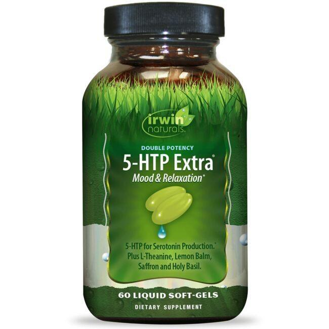 Irwin NaturalsDouble Potency 5-HTP Extra