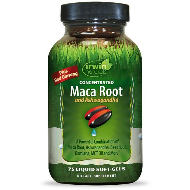 Irwin Naturals Concentrated Maca Root and Ashwagandha